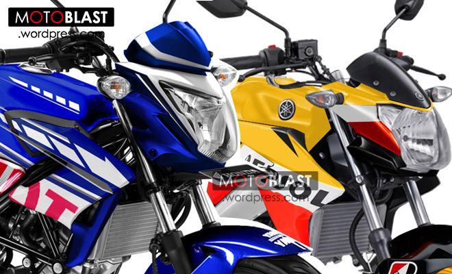 Ada Cbr Versi Fiat Yamaha Dan New Vixion Repsol Honda