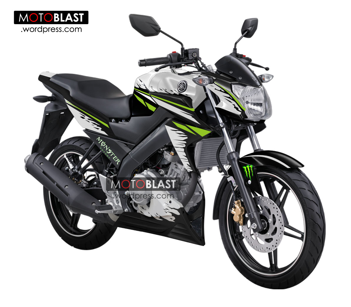 New Striping Design All New Vixion 2013 Special Edition Bali