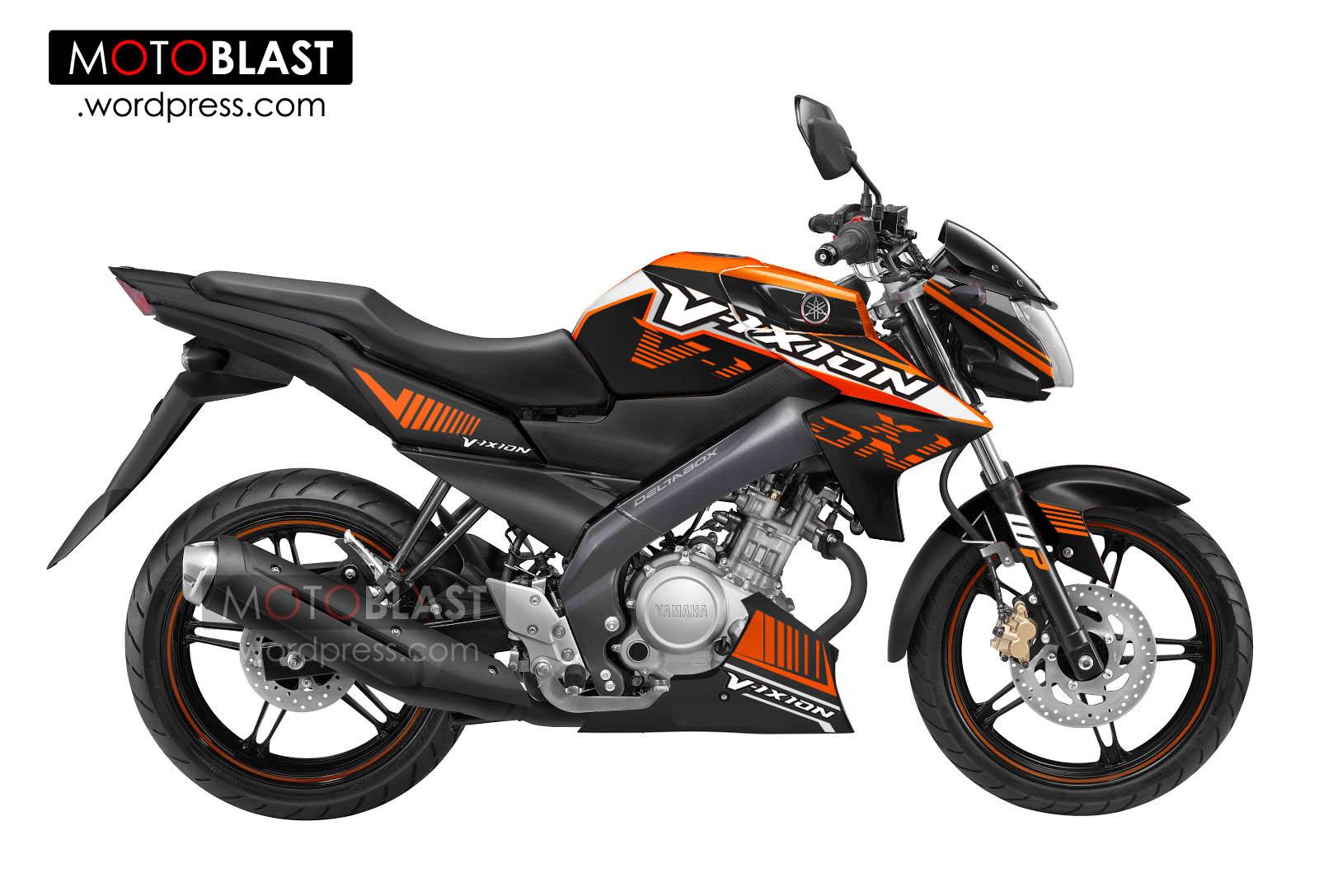 Modifikasi New Vixion Versi KTM DUKE,Ubah Tampilan semakin Juooss!!!
