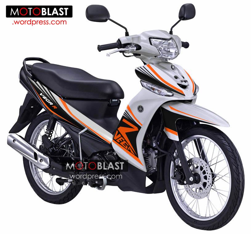 New Striping Untuk New Vega R Biar Lebih Fresh Motoblast