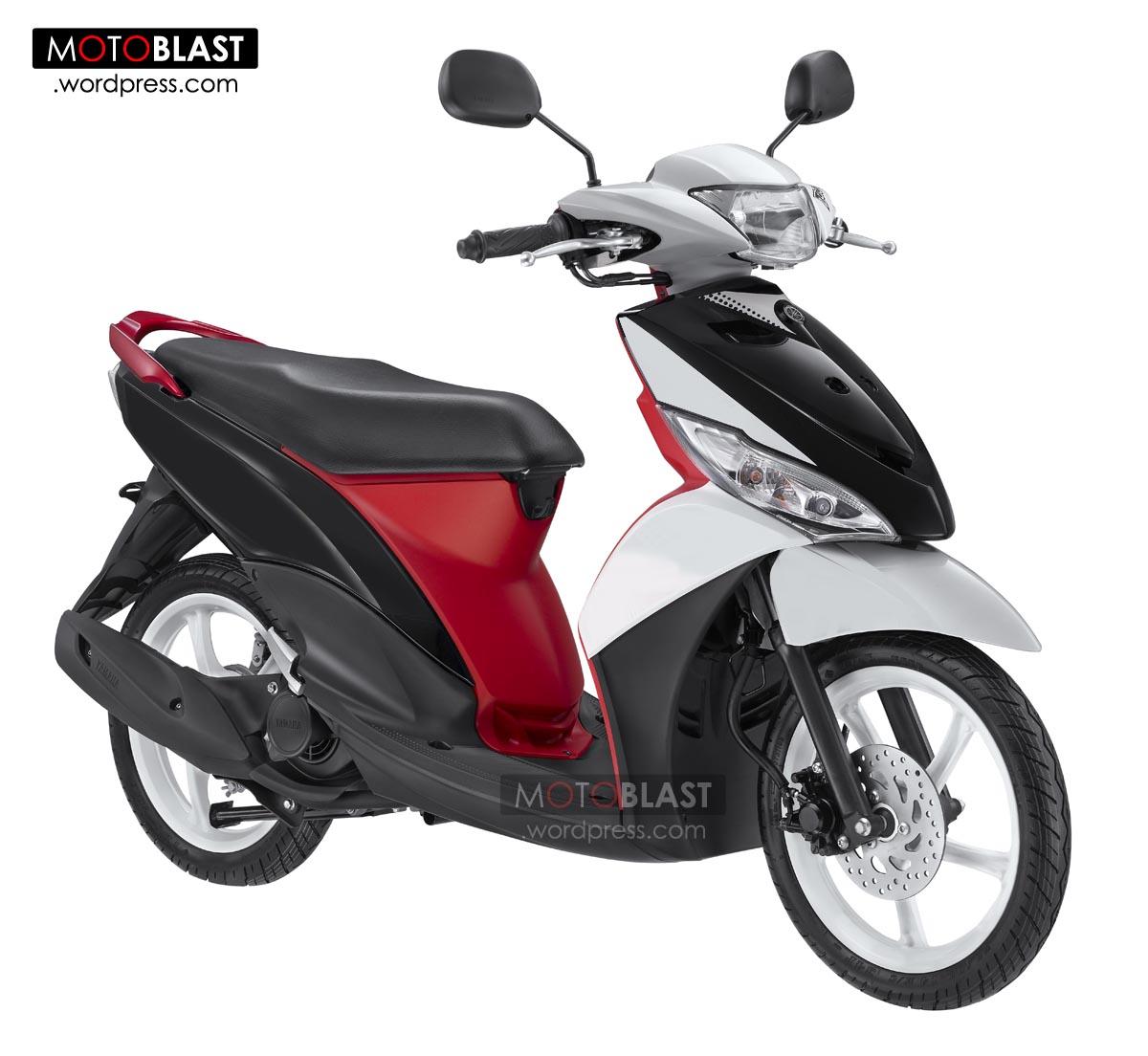 Kumpulan Modifikasi Motor Mio J Warna Merah Terbaru Kampong Motor
