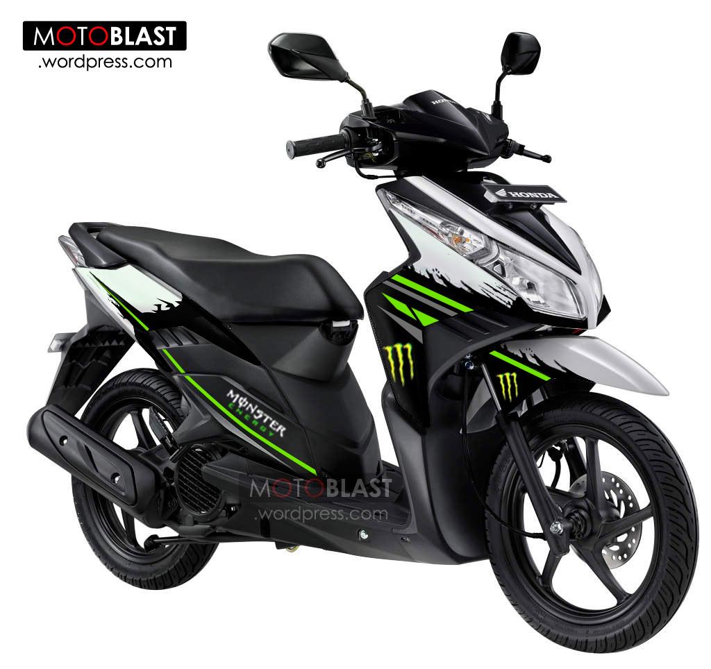 Koleksi Modifikasi Motor Matic Vario 110 Terlengkap Kampong Motor