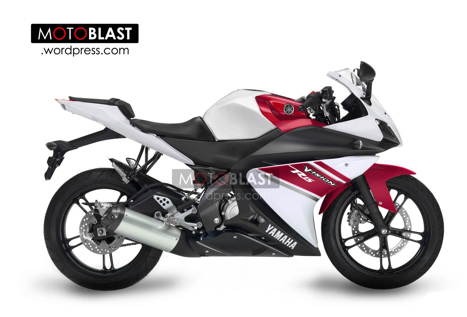 Penampakan Utuh Yamaha Vixion R15 Monyorr Monyoorr Versi