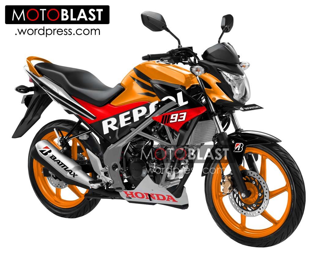 Modif Striping CB150 R Repsol Edition!! | MOTOBLAST