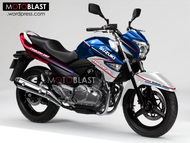 Ada Warna Livery Baru Untuk Suzuki Inazuma 2013!! Monyor