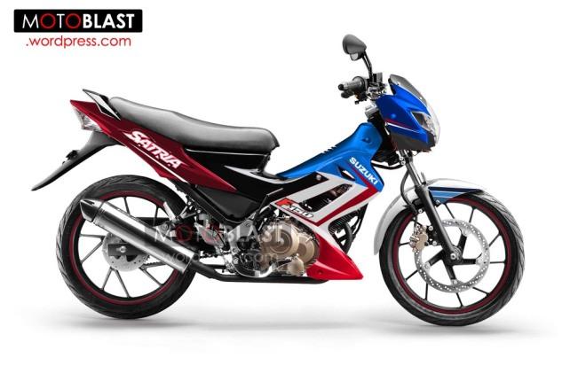 modif striping Suzuki-Satria-FU-150-4