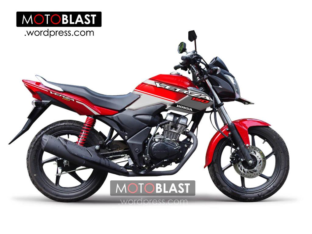 Modif Striping Honda Verza 150 MOTOBLAST