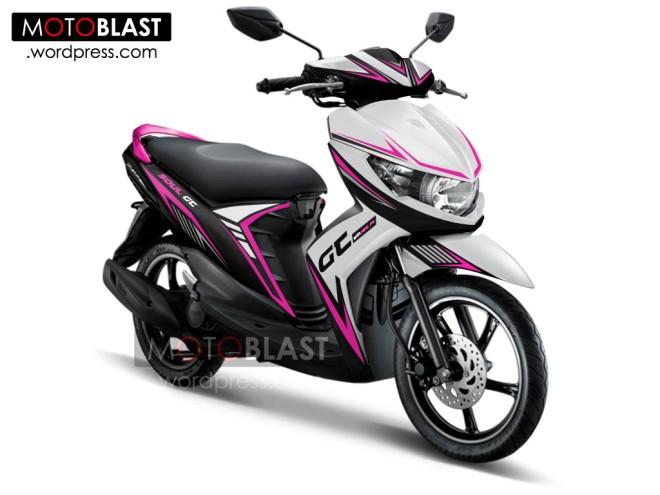 Modif Striping Mio Soul Gt Untuk Rider Srikandi