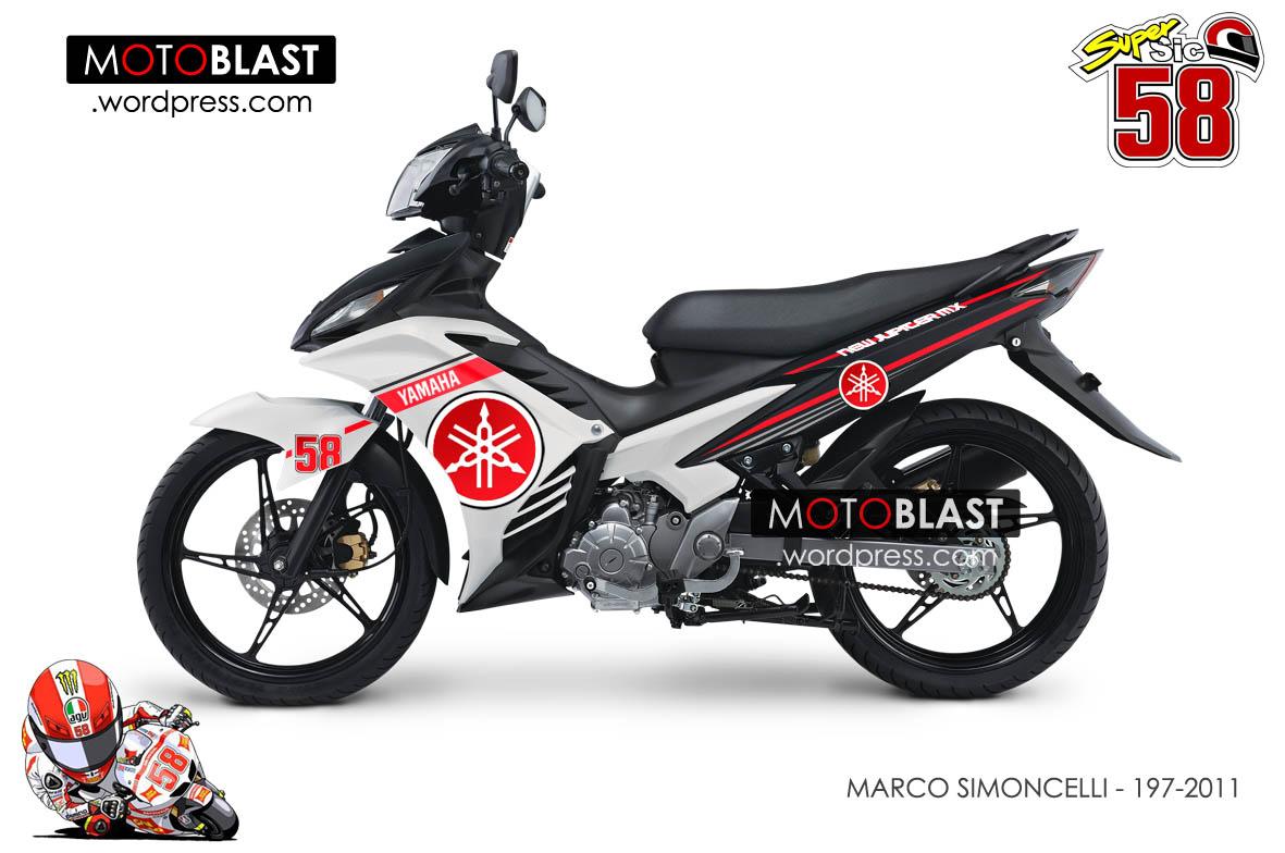 67 modifikasi motor jupiter mx stiker terbaik dan terupdate