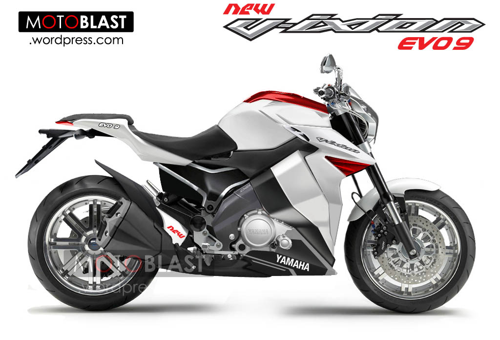 Yamaha New Vixion EVO 9!!