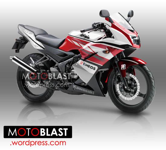 Kawasaki Ninja 150 RR Super KIPS 2014 - AIDIN STUDIO - YouTube
