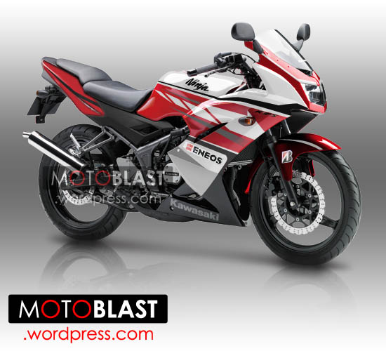 Modif Striping Ninja 150 RR Merah!