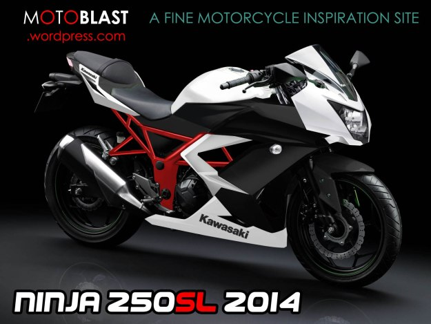 kawasaki ninja 250SL 1 tralis 5 tralis merah