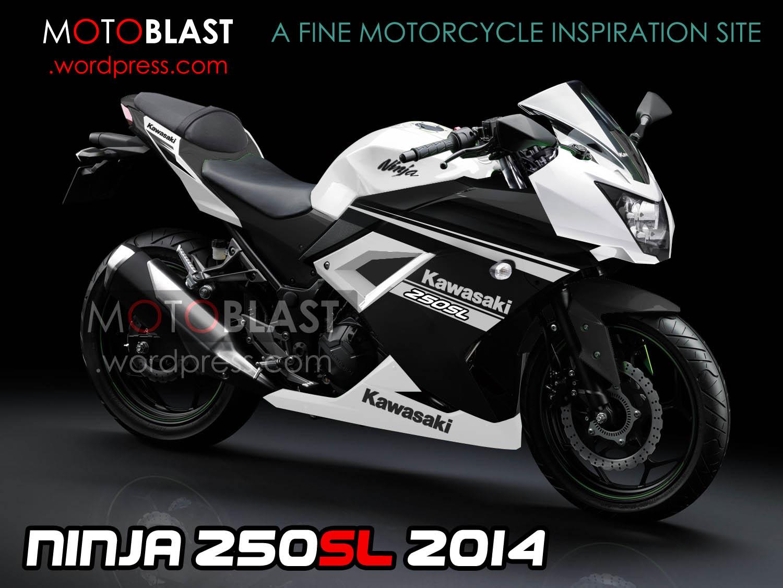 gambaran gamblang untuk kawasaki 250 rr mono 2014! versi motoblast