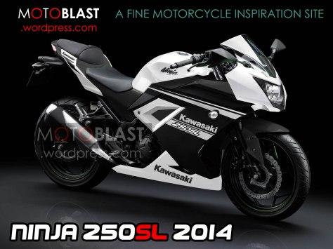 kawasaki ninja 250SL RR mono 2014