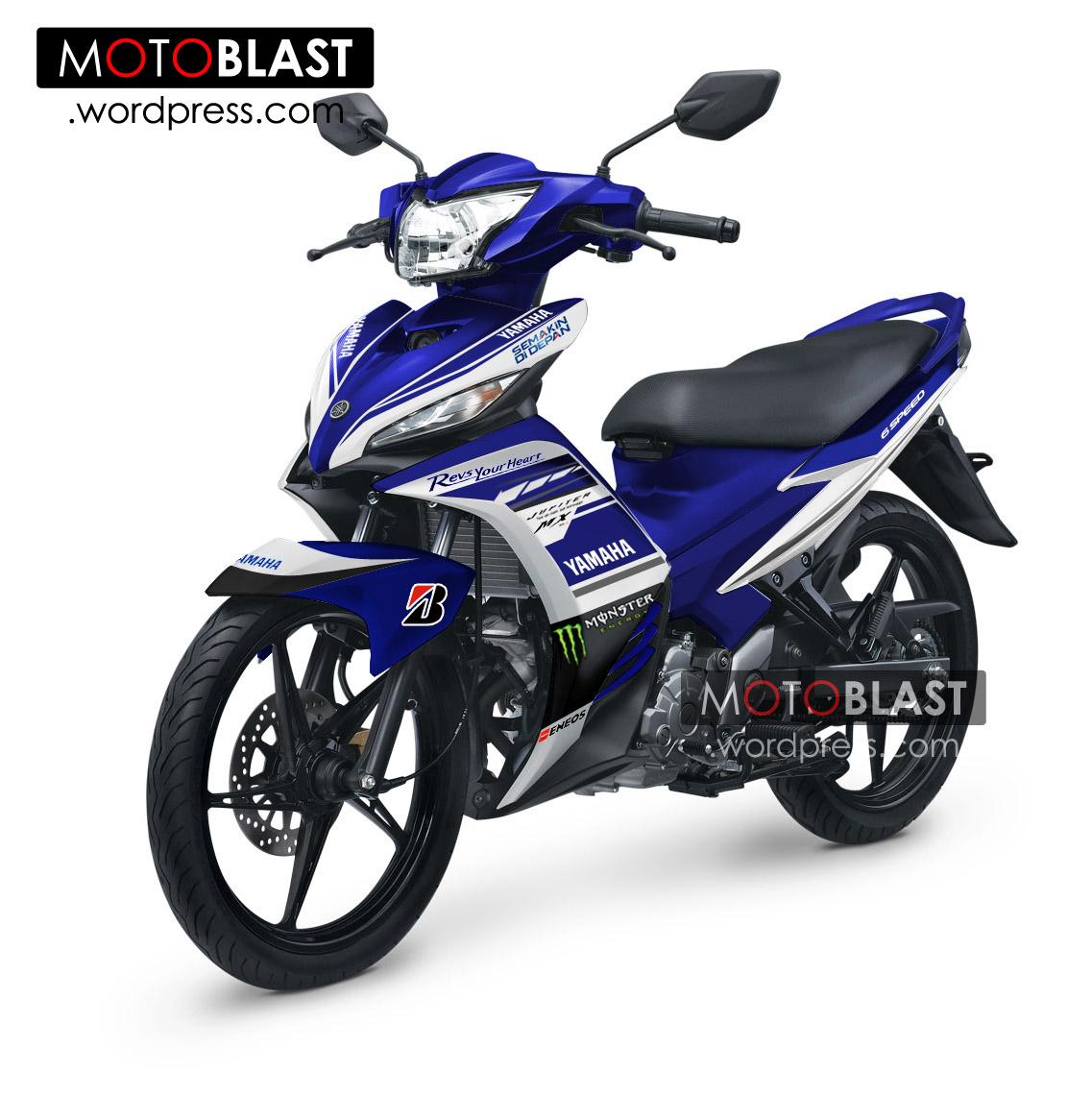 Modif Striping New Jupiter MX Livery motogp 2014! | MOTOBLAST