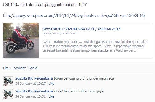 Launching Suzuki Gixxer Di Indonesia
