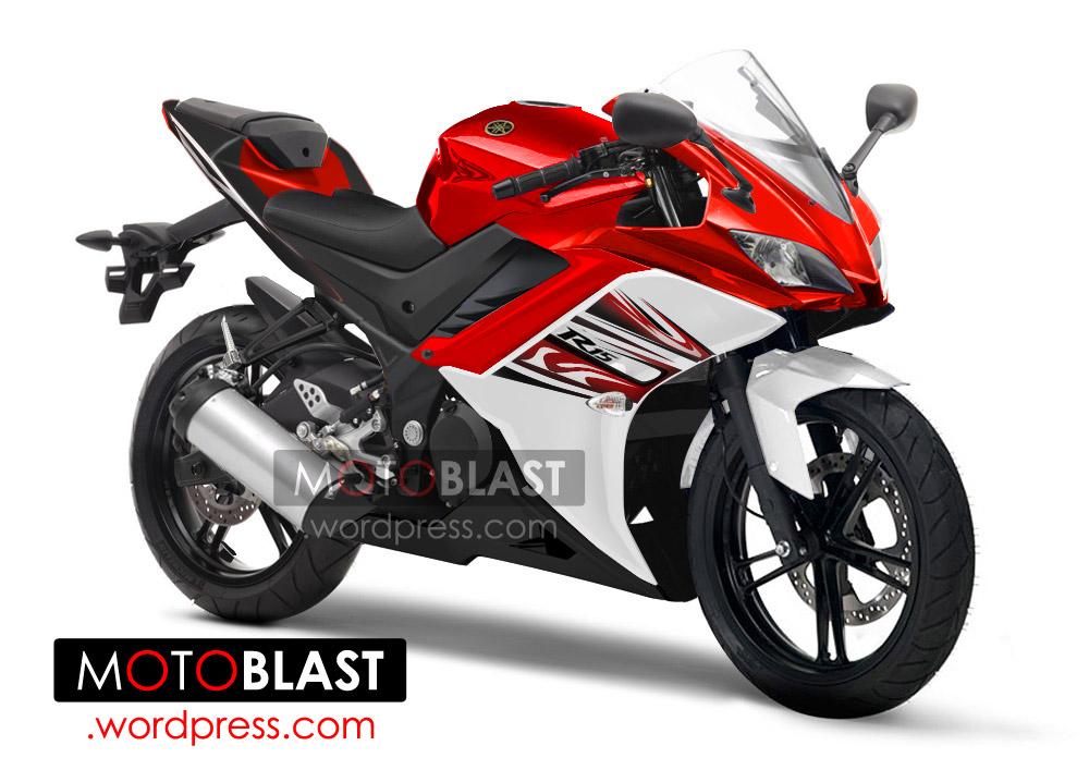 Yamaha R15 Indonesia 2014! Render!   MOTOBLAST Yamaha New Bike 2014 R15