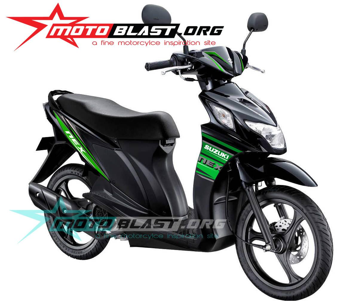Striping Baru Untuk Refresh Suzuki Nex Black