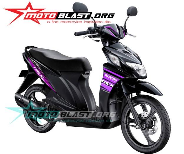 suzuki nex black4