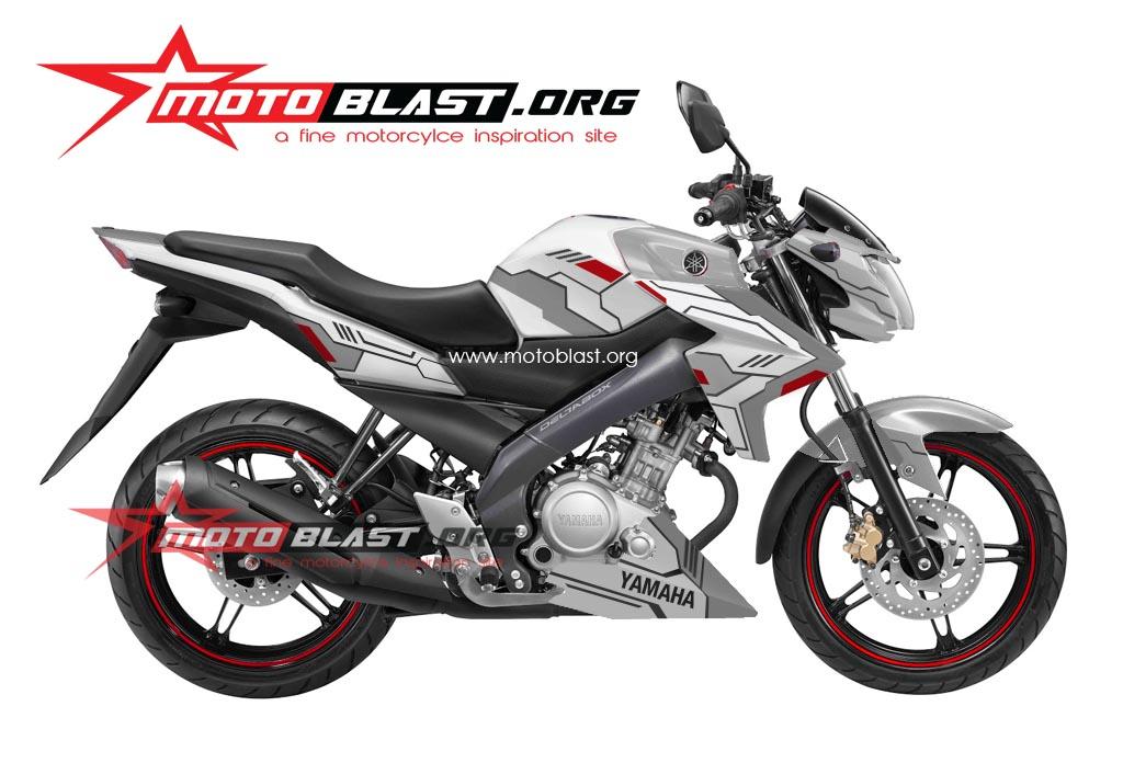 ini motoblast akan buat sedikit aneh untuk striping new vixion 2014