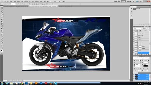 aturan dasar dalam edting modif motor di photoshop