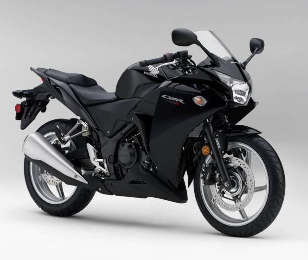 CBR 250 R 2011 BLACK