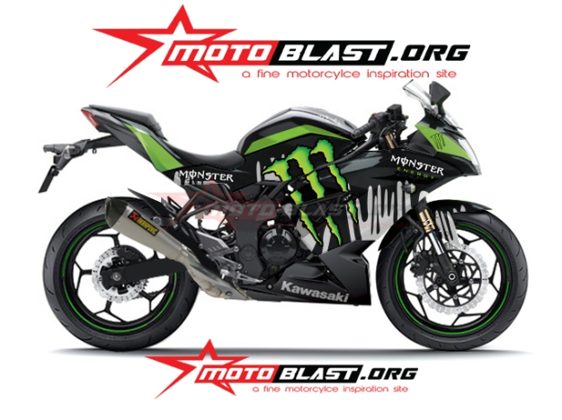 modif-ninja 250 RR mono-monster2