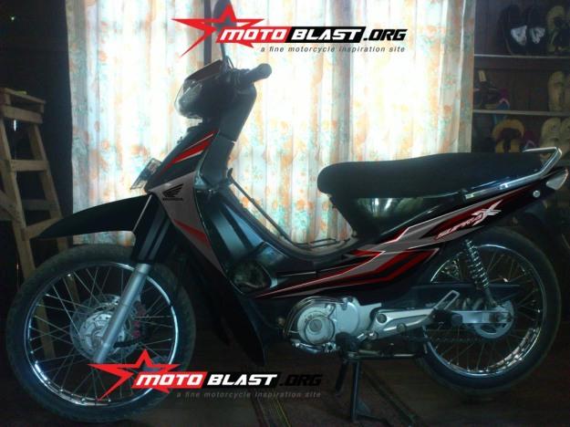 modif striping supra x 100cc -1