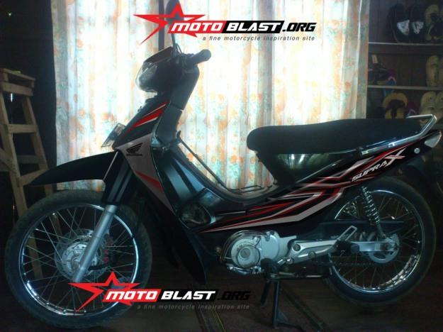 modif striping supra x 100cc -3