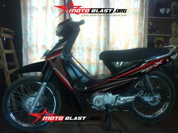 modif striping supra x 100cc -4