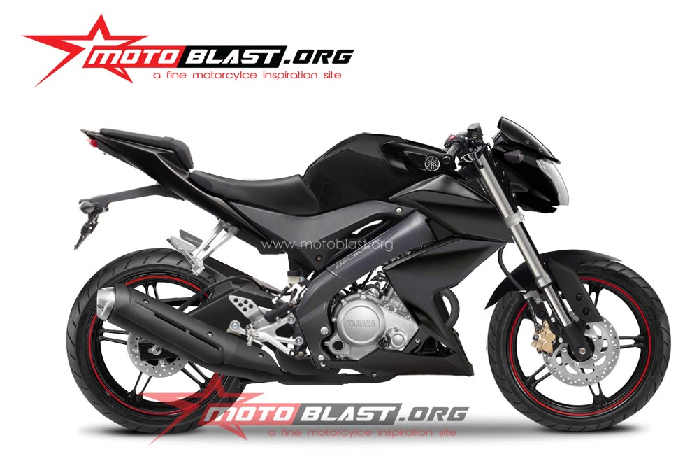 akan buatn modif striping yamaha new vixion 2014 black terbaru
