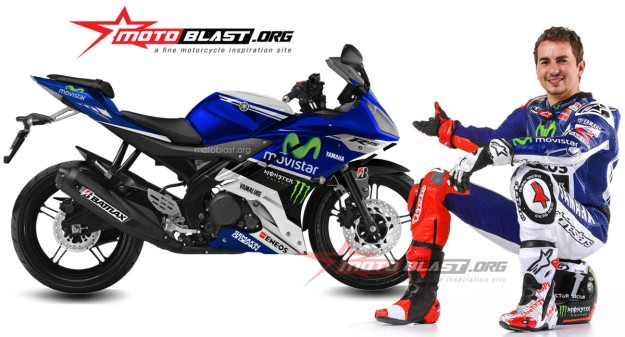 modification decal design yamaha R15 movistar yamaha motogp3