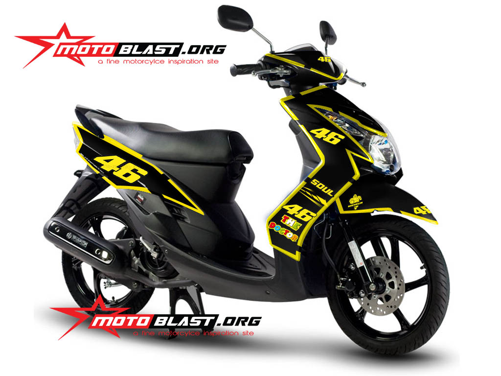 Modifikasi Yamaha Mio Th 2010