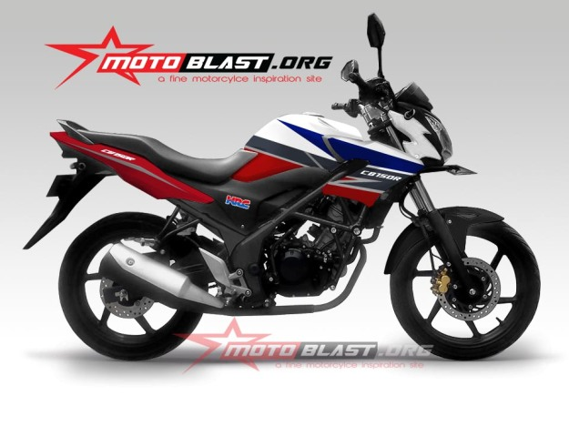 CB150R new STRIPING 2014-1