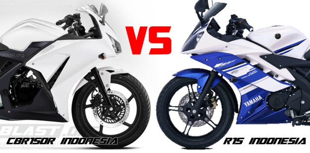 CBR150r INDONESIA VS YAMAHA R15 INDONESIA 2
