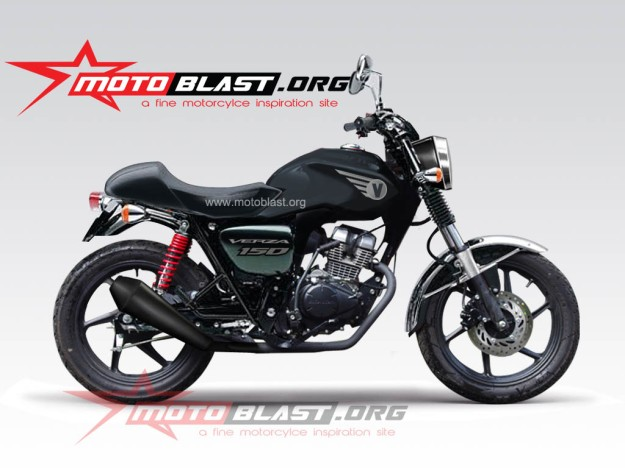 honda verza black retro2