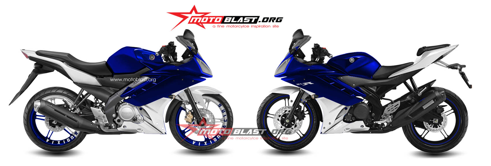 kompare - yamaha-new-vixion-halffairing R15 vs yamaha R15 indonesia