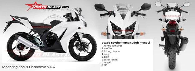 KUMPULAN SPYSHOOT - CBR-150R INDONESIA