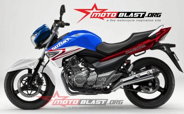 modif striping Suzuki Inazuma 250 -clean-1k
