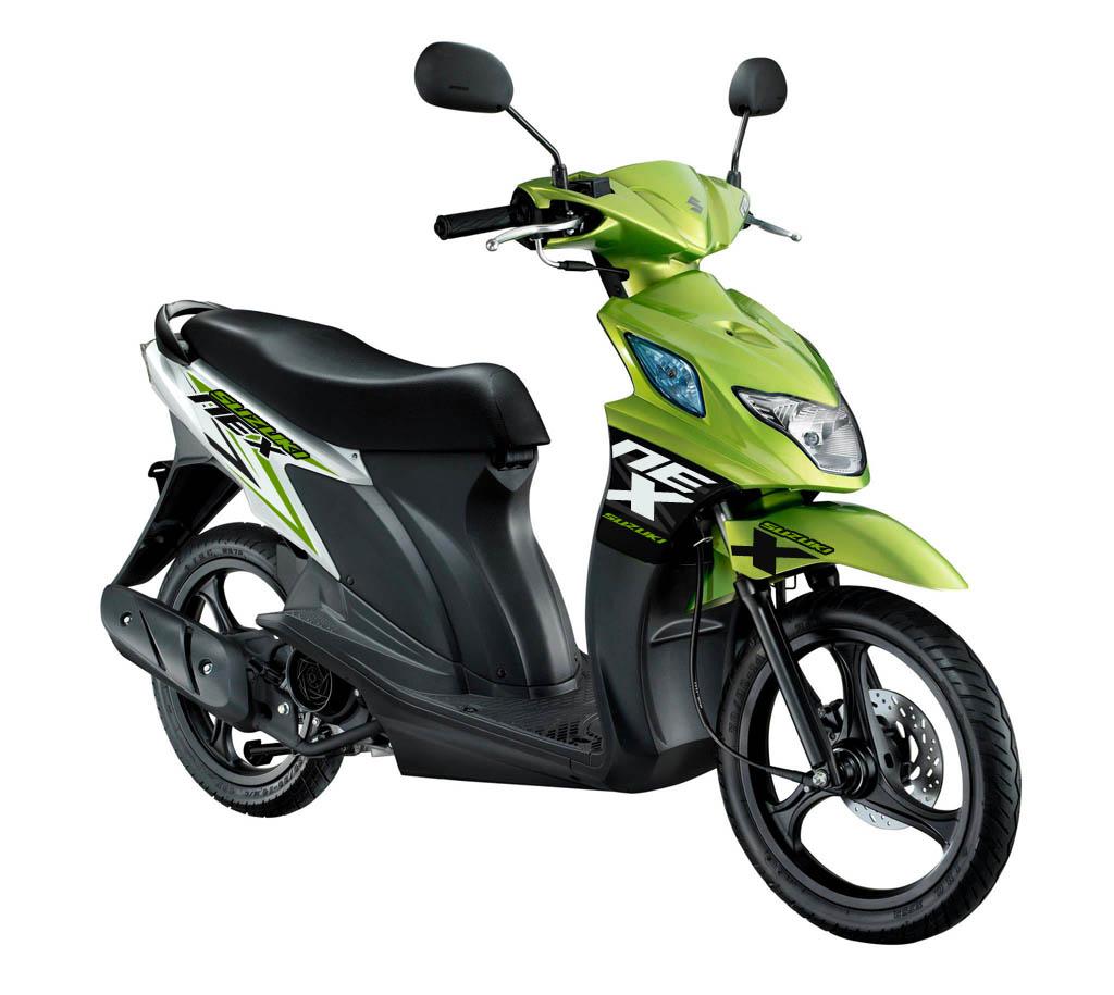 Modif Striping Suzuki Nex Hijau