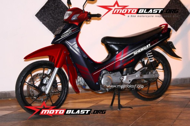 modif striping suzuki shogun 110-1