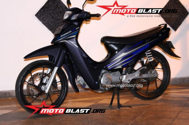 modif striping suzuki shogun 110-2