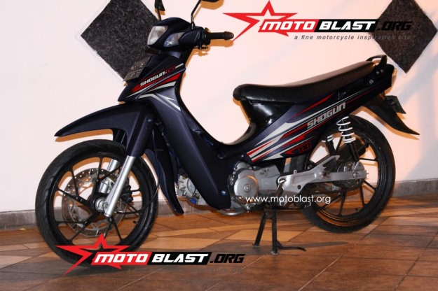 modif striping suzuki shogun 110-5