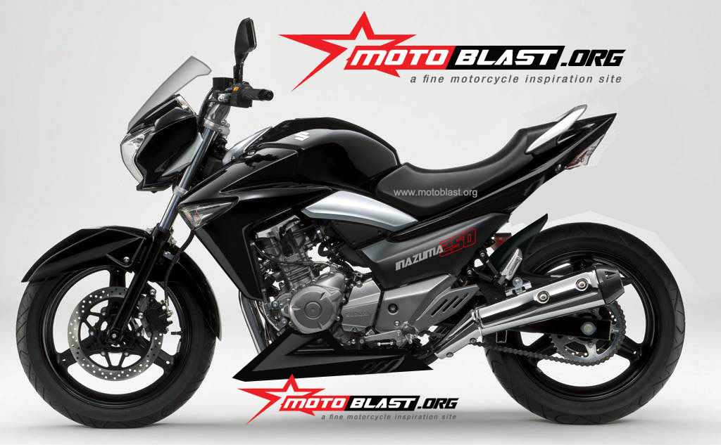 Modification Suzuki Inazuma 250 Street Fighter! | MOTOBLAST