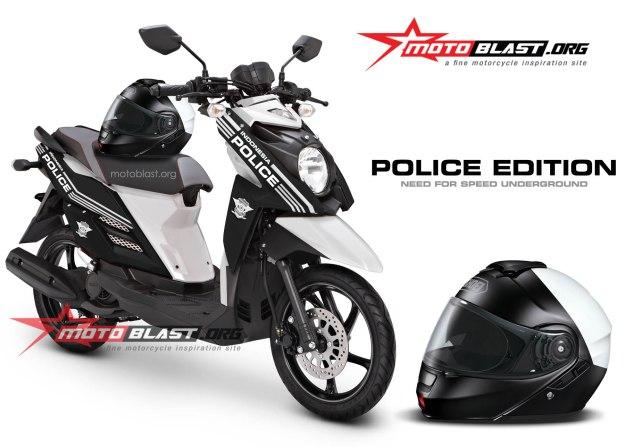 x-ride-black police 1