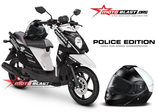 x-ride-black police 2