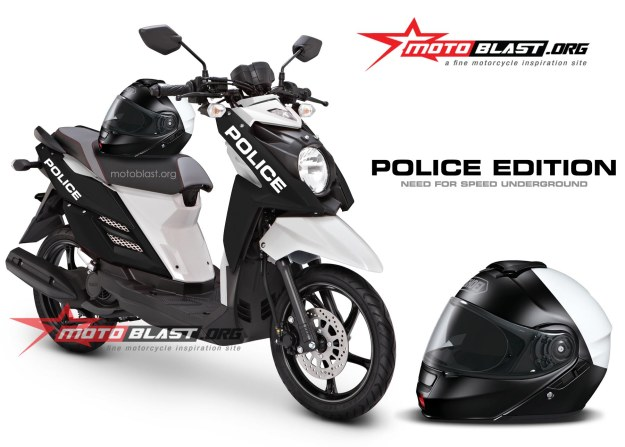 x-ride-black police 3