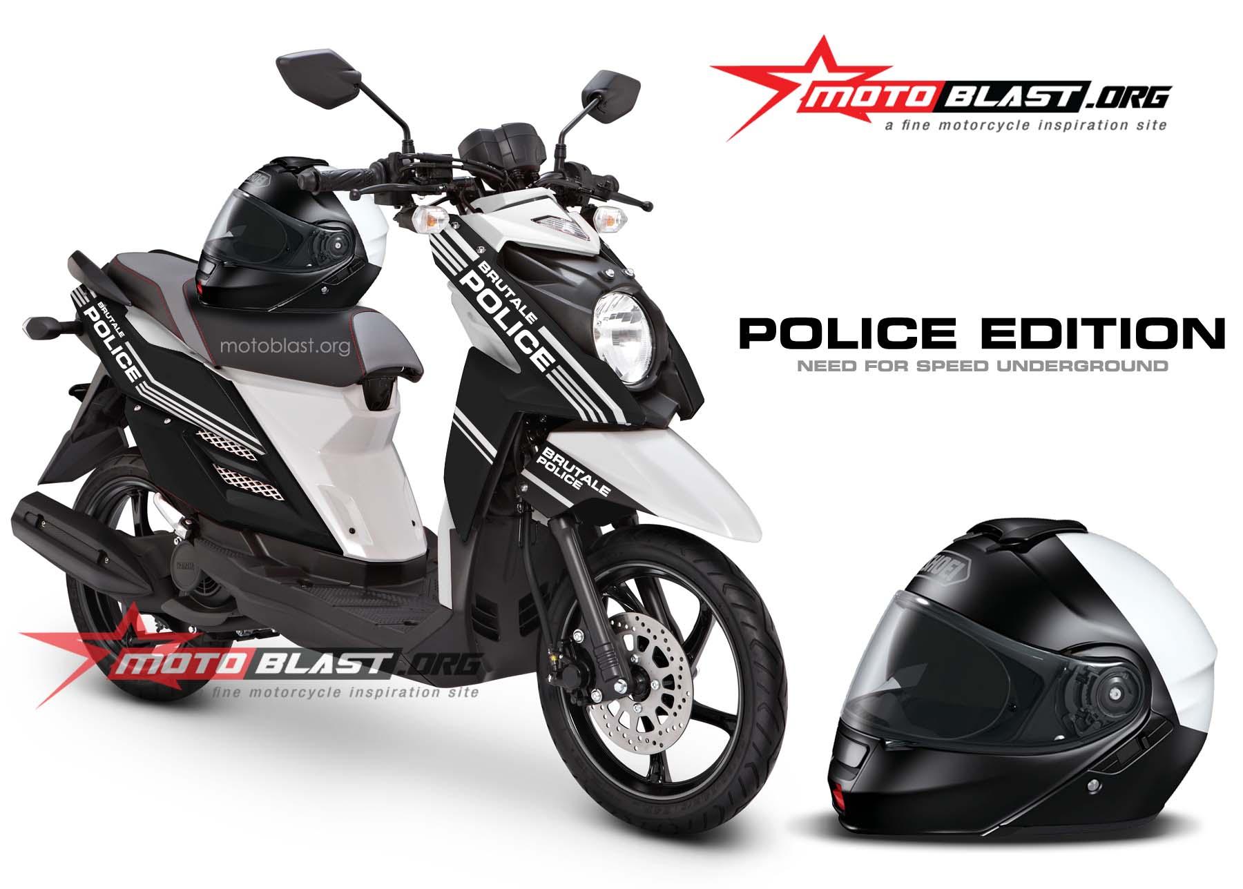 Yamaha X Ride Black Police Edition