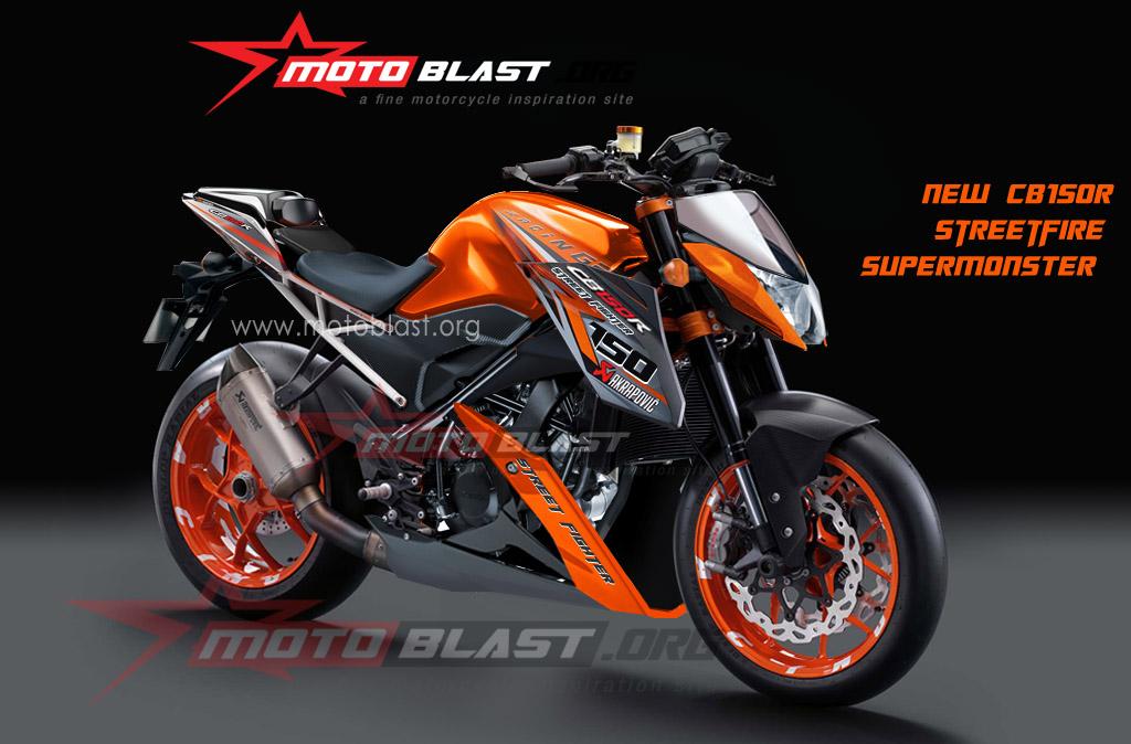 Modif Honda CB150R – Streetfire Supermonster !! | MOTOBLAST